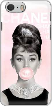 Audrey Hepburn bubblegum Case for Iphone 6 4.7