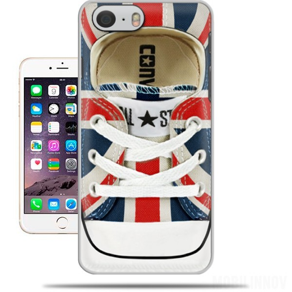 Case All Star Basket shoes Union Jack London for Iphone 6 4.7