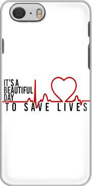 Beautiful Day to save life Iphone 6 4.7 Case