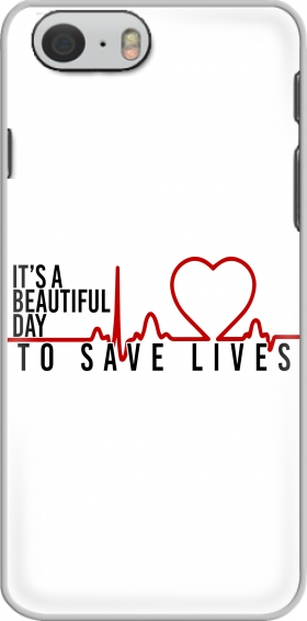 Case Beautiful Day to save life for Iphone 6 4.7