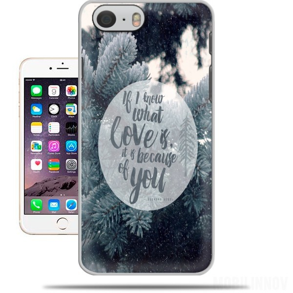Case Because of You for Iphone 6 4.7