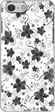 Black Flower Case for Iphone 6 4.7
