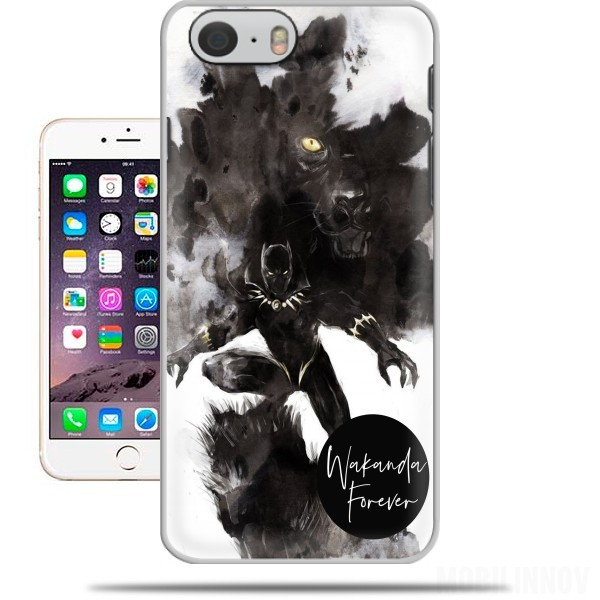 Case Black Panther Abstract Art Wakanda Forever for Iphone 6 4.7