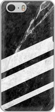 Black Striped Marble Case for Iphone 6 4.7