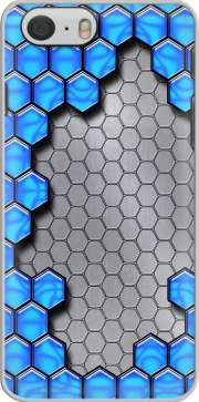Blue Metallic Scale Case for Iphone 6 4.7