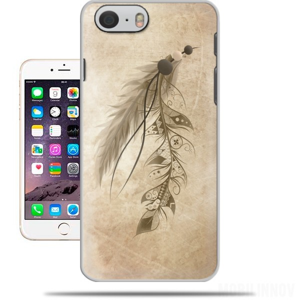 Case Boho Feather for Iphone 6 4.7