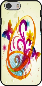 Butterfly with flowers Case for Iphone 6 4.7