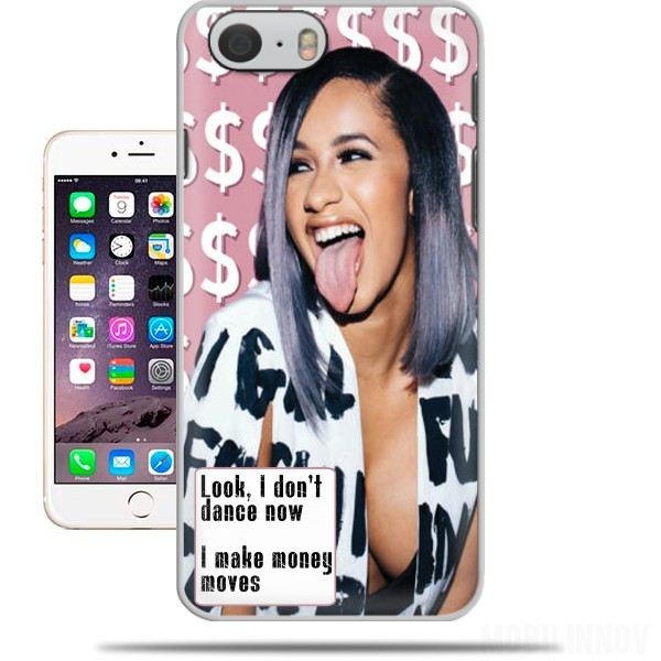 Case Cardie B Money Moves Music RAP for Iphone 6 4.7