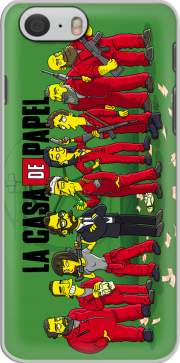 Casa de papel mashup Simpson Iphone 6 4.7 Case