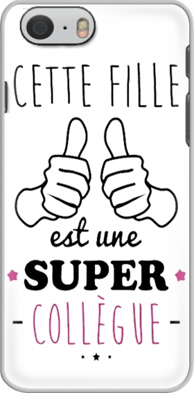 Case Cette Fille Est Une Super Collegue for Iphone 6 4.7