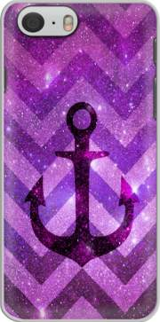 Anchor Chevron Purple Case for Iphone 6 4.7