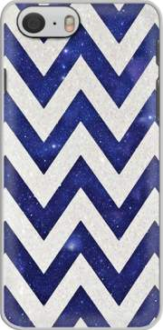 Chevron silver in night galaxy Case for Iphone 6 4.7