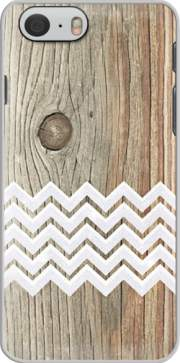 Chevron on wood Case for Iphone 6 4.7