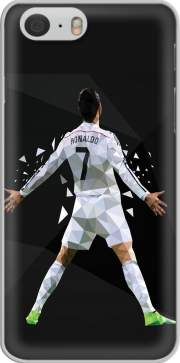 Cristiano Ronaldo Celebration Piouuu GOAL Abstract ART Iphone 6 4.7 Case