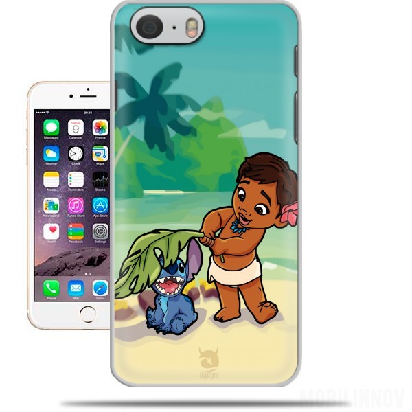 Case Disney Hangover Moana and Stich for Iphone 6 4.7