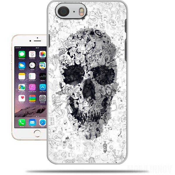 Case Doodle Skull for Iphone 6 4.7