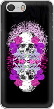 Flowers Skull Case for Iphone 6 4.7