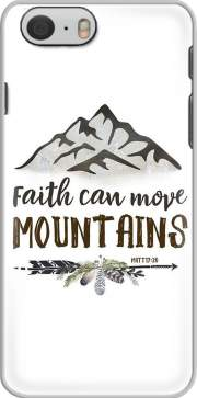 Faith can move montains Matt 17v20 Bible Blessed Art Iphone 6 4.7 Case