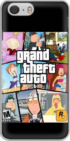 Case Family Guy mashup GTA for Iphone 6 4.7