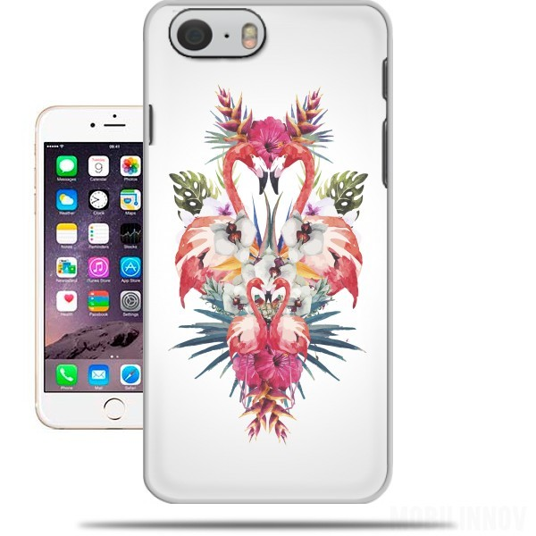 Case Flamingos Tropical for Iphone 6 4.7