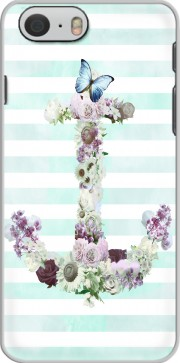 Floral Anchor in mint Case for Iphone 6 4.7
