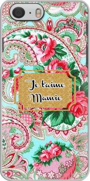 Floral Old Tissue - Je t'aime Mamie Case for Iphone 6 4.7