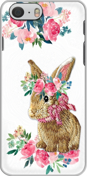 Case Flower Friends bunny Lace for Iphone 6 4.7
