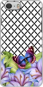 flower power Butterfly Iphone 6 4.7 Case