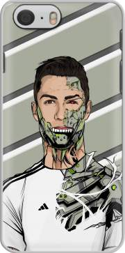 Football Legends: Cristiano Ronaldo - Real Madrid Robot Case for Iphone 6 4.7
