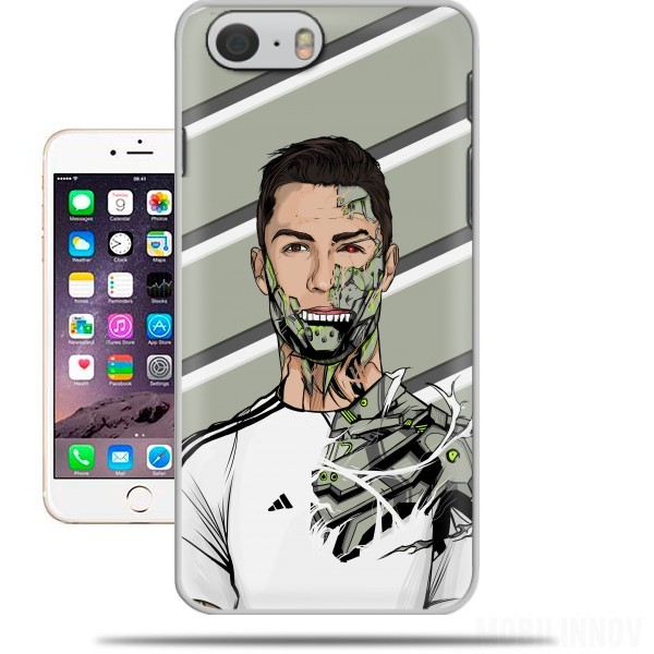 sneakers for cheap 60d68 3dbf6 Football Legends: Cristiano Ronaldo - Real Madrid Robot case for Iphone 6  4.7