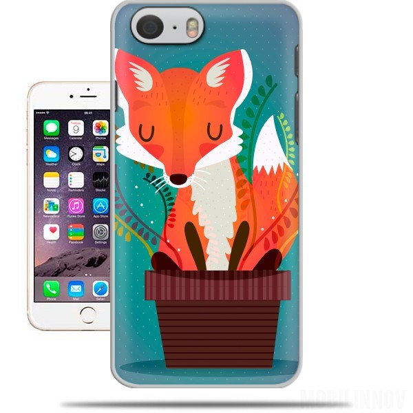 Case Fox in the pot for Iphone 6 4.7