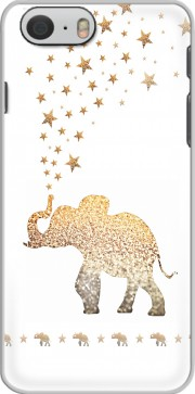 Gatsby Gold Glitter Elephant Case for Iphone 6 4.7
