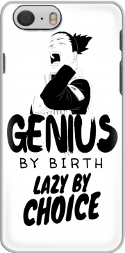 Genius by birth Lazy by Choice Shikamaru tribute Iphone 6 4.7 Case