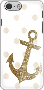 Glitter Anchor and dots in gold Case for Iphone 6 4.7
