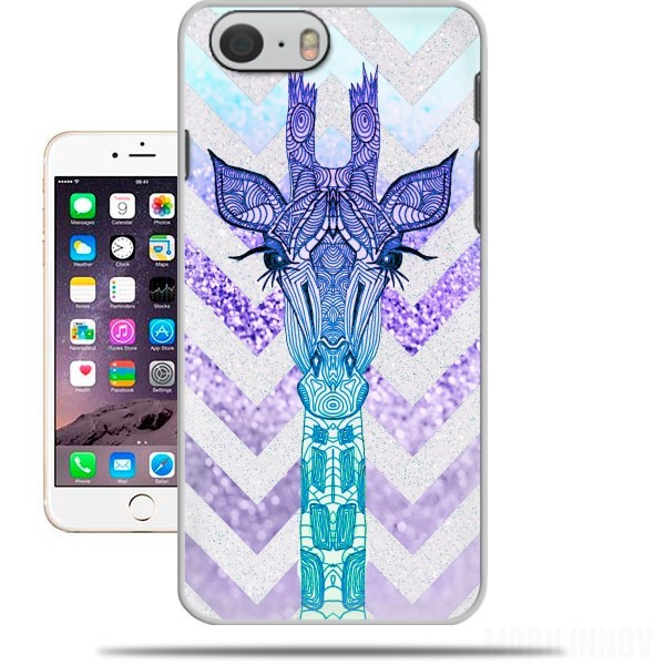 Case GLITTER GIRAFFE for Iphone 6 4.7