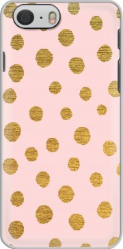 Golden Dots And Pink Case for Iphone 6 4.7