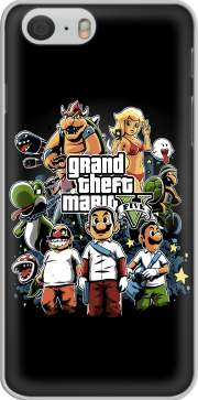 Grand Theft Mario Case for Iphone 6 4.7