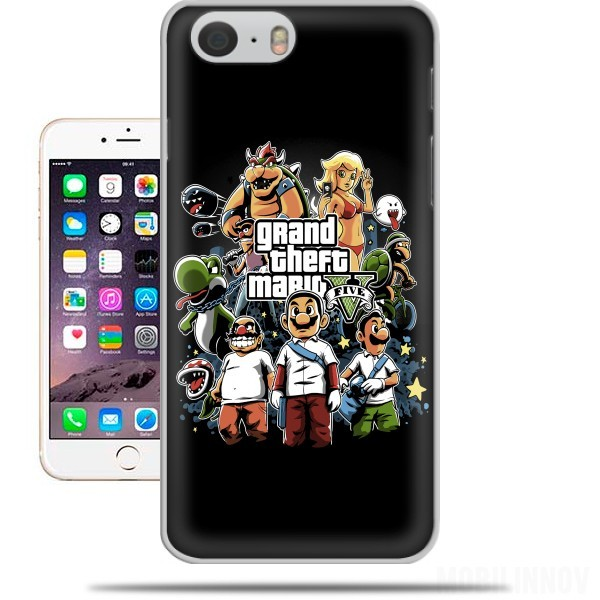 Case Grand Theft Mario for Iphone 6 4.7