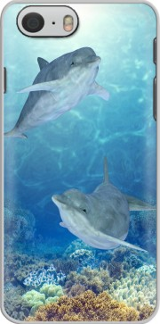 happy dolphins Case for Iphone 6 4.7