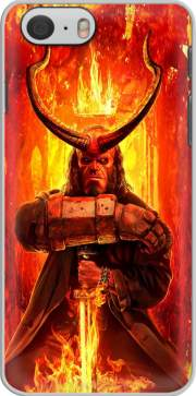 Hellboy in Fire Iphone 6 4.7 Case