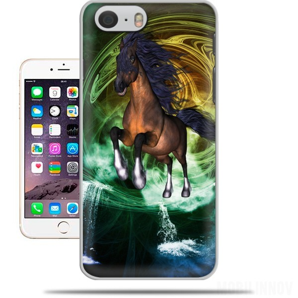 Case Horse with blue mane for Iphone 6 4.7