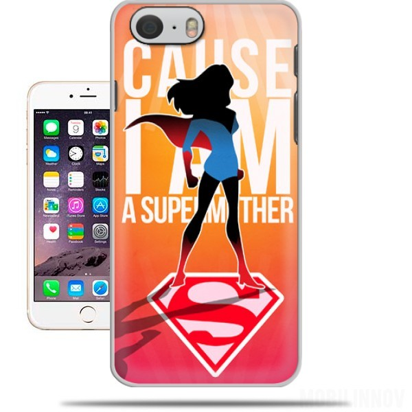 Case I am a super mom for Iphone 6 4.7