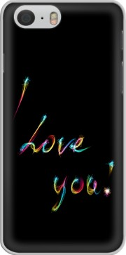 I love you - Rainbow Text Iphone 6 4.7 Case