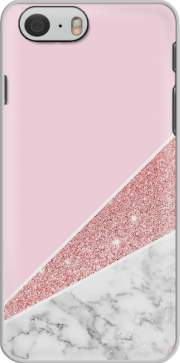 Initiale Marble and Glitter Pink Case for Iphone 6 4.7