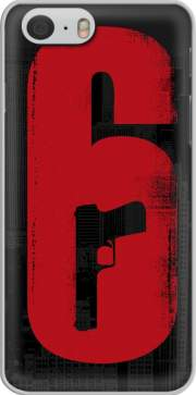 Case Inspiration Rainbow 6 Siege - Pistol inside Gun for Iphone 6 4.7