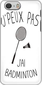 Je peux pas jai badminton Iphone 6 4.7 Case