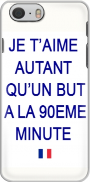 Je t aime autant qu un but a la 90eme minutes Iphone 6 4.7 Case