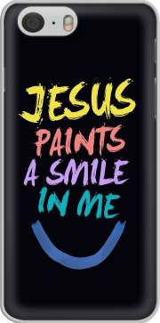 Jesus paints a smile in me Bible Iphone 6 4.7 Case