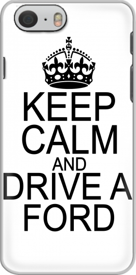Case Keep Calm And Drive a Ford for Iphone 6 4.7