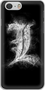 L Smoke Death Note Case for Iphone 6 4.7
